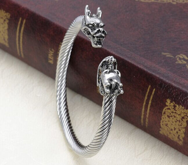 Viking Dragon Bracelet Adjustable
