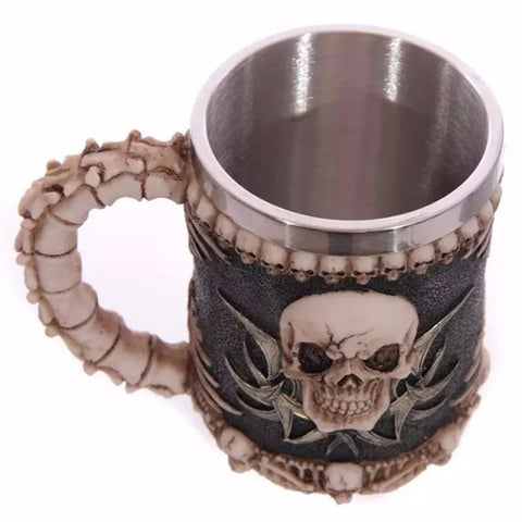 Skull Bone Monster Mug