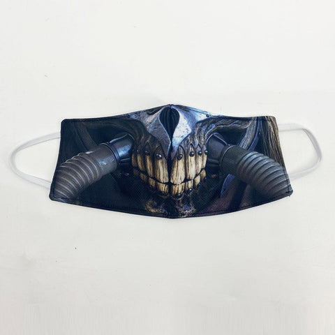 Immortan Joe Face Cover, USA Made Mouth Guard, Colorful Print Face Covering
