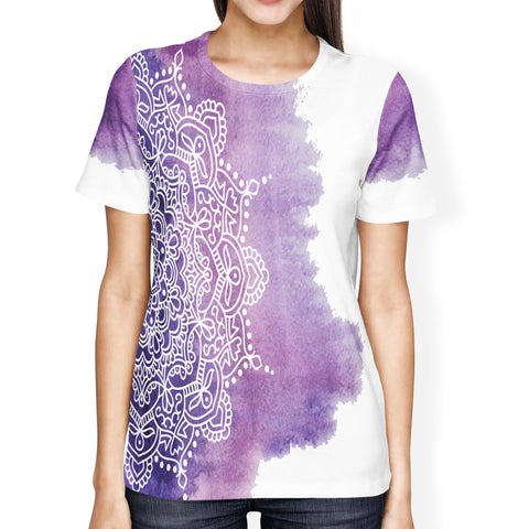 Purple Mandala Ladies' T-shirt