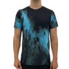 Black Blue Splash Men's T-shirt