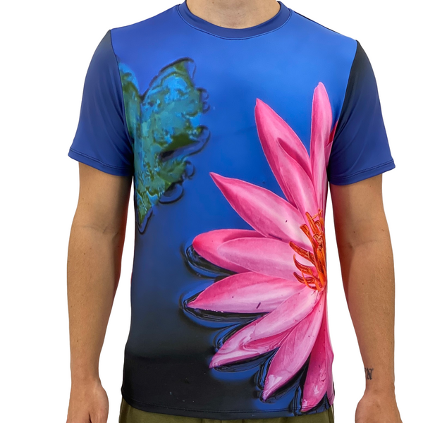 Pink Lily Men's T-Shirt