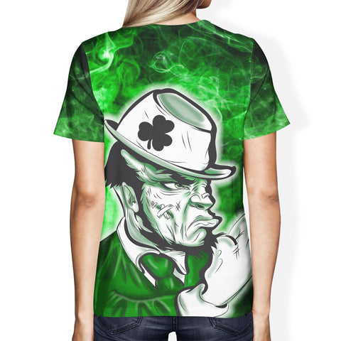 Fighting Leprechaun Women's T-Shirt