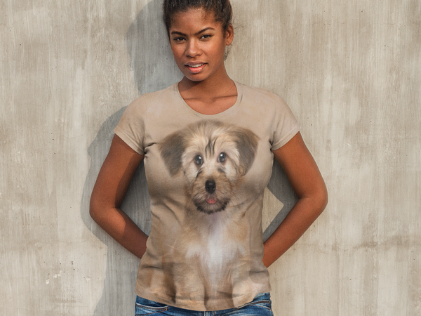 Women's Havanese Puppy T-shirt