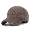 Woolen Knitted Design Winter Baseball Cap