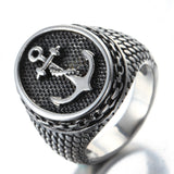 Anchor titanium steel ring