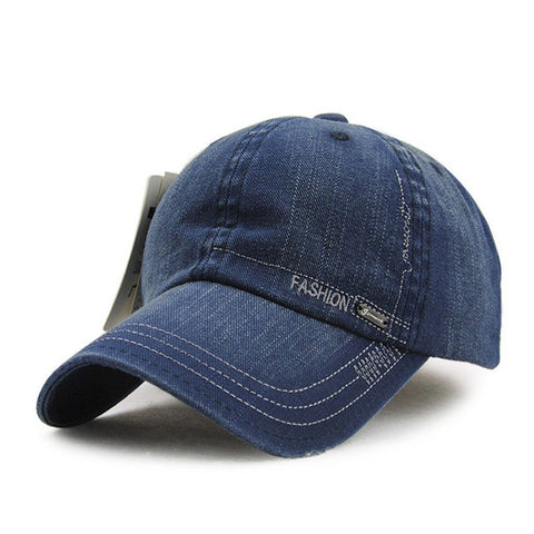 New Washed Denim Sun Visor Baseball Caps