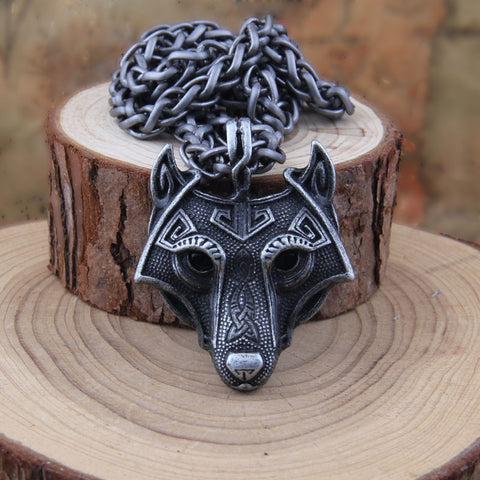 Wolf Head Necklace Original Animal