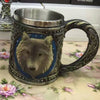 Wolf Head Coffee Mug