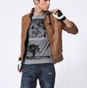 Men Winter Leather Jacket