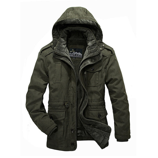 Large Size Cotton Thicken Winter Jacket