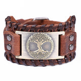 Tree of Life Vintage Wrap Leather Bracelets