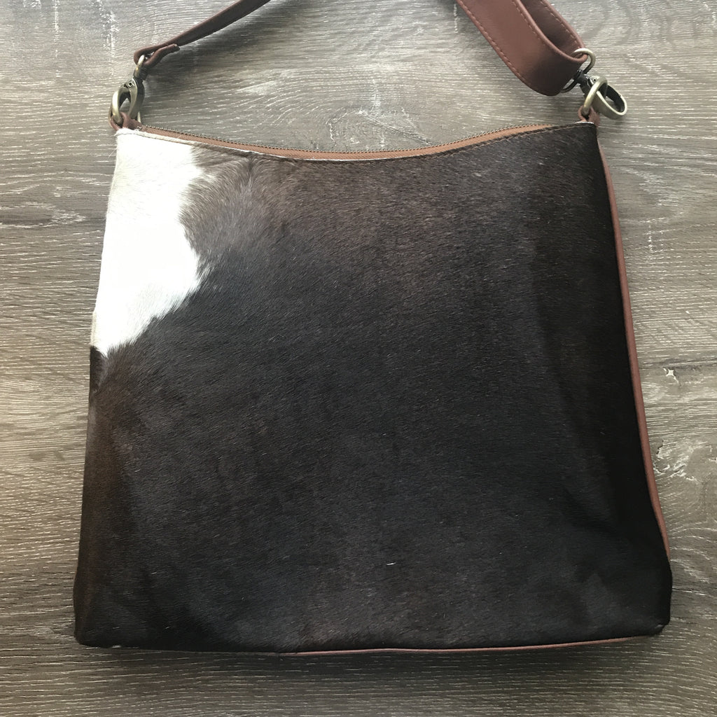Diddy Day Bag  Tan cow hide, tan leather