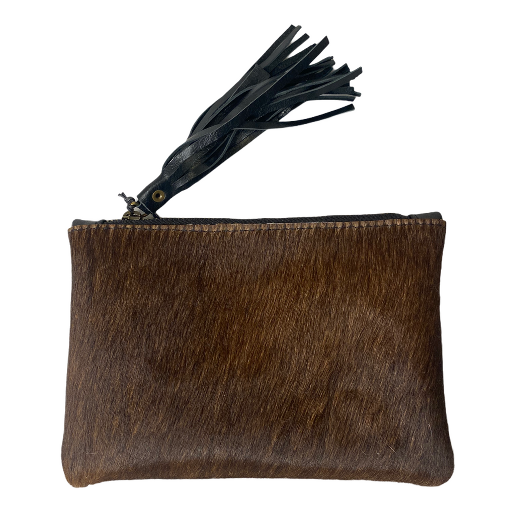 Betty Brown Penny Purse Brown hide