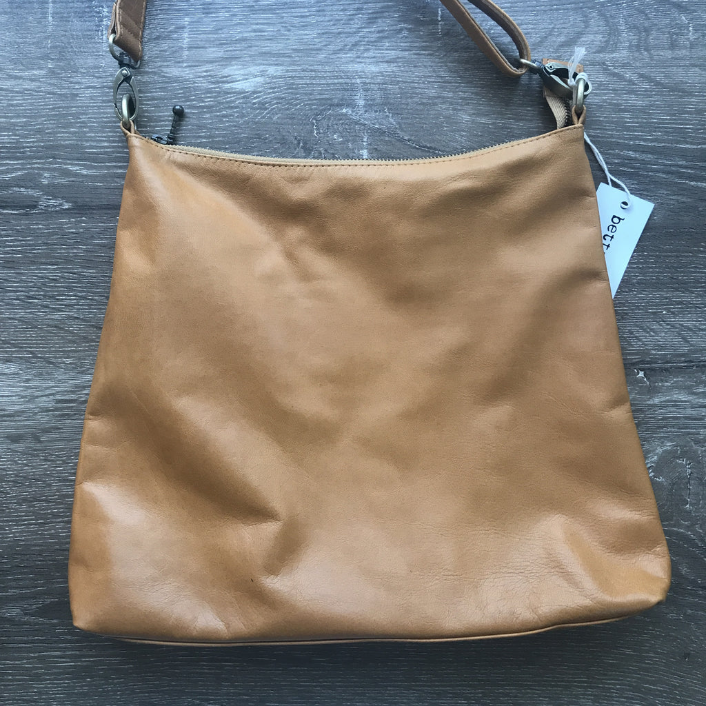 Diddy Day Bag Large tan leather