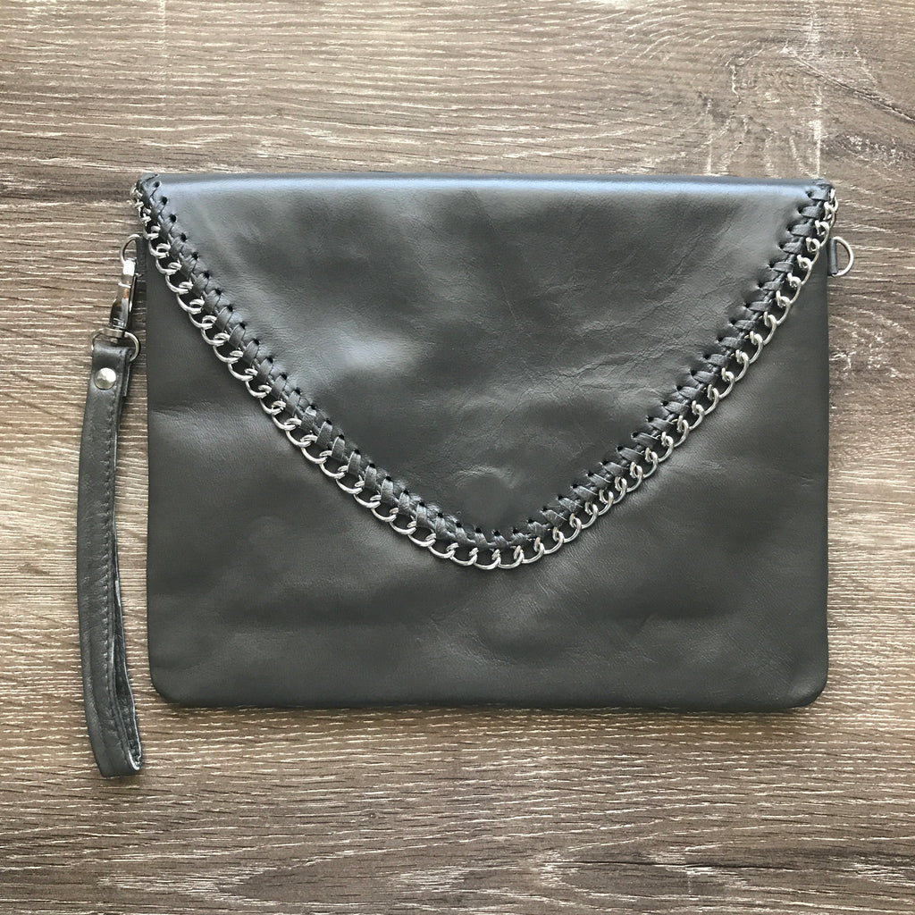 Charmaine Chain Bag - Grey