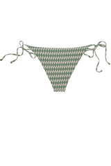 BRIEFS - The Side Tie - Sage Signature Print