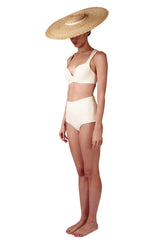 TOP - The Supportive Cross Back - Ivory
