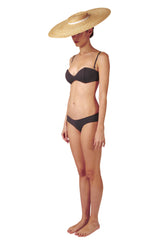 TOP - The Bandeau - Charcoal