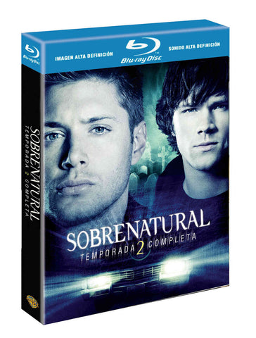 Sobrenatural Temporada 2 Blu-Ray