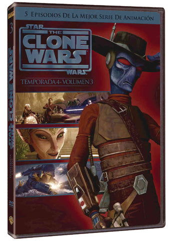 Star Wars: The Clone Wars Temporada 4 Volumen 3