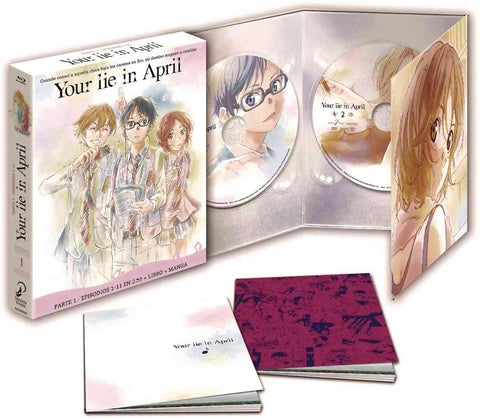 Your Lie In April Parte 1 Episodios 1 A 11 Blu-Ray Edición Coleccionistas