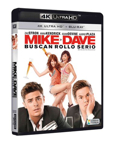 Mike Y Dave Buscan Rollo Serio Blu-Ray Uhd