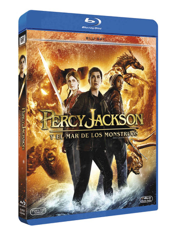 Percy Jackson Y El Mar De Los Monstruos Blu-Ray