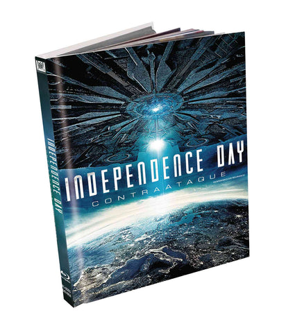 Independence Day Contraataque Digibook Blu-Ray