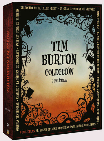 Pack Tim Burton