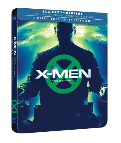 X-Men Trilogía Original Blu-Ray Steelbook