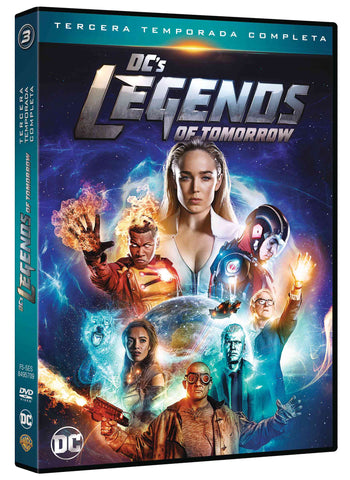 Dc Legends Of Tomorrow Temporada 3