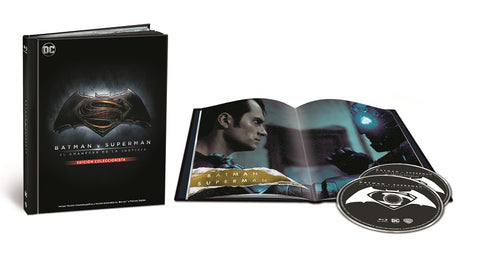 Batman V Superman Digibook Blu-Ray