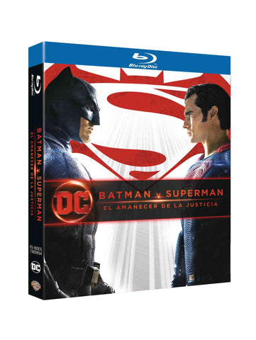 Batman V Superman Ed. 2018 Blu-Ray