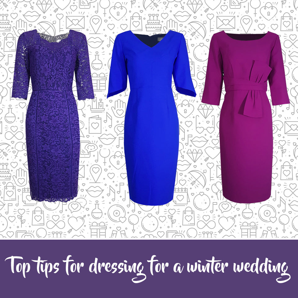 Top tips for dressing for a winter wedding