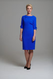 L 1014 Blue Bow Dress