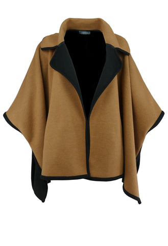 1155 Camel & Black Cape