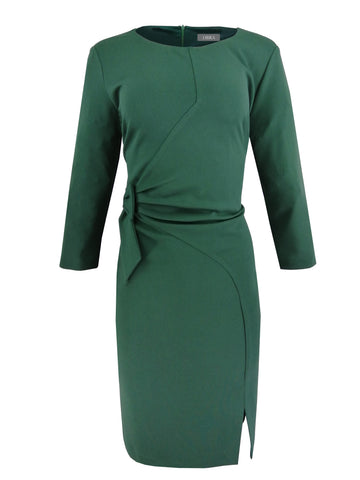 1168 Green Bow Dress