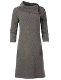951 Grey Knit Dress