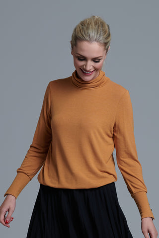 980 Mustard Polo Jumper
