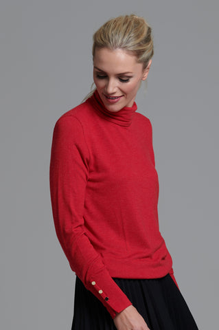 980 Red Polo Jumper