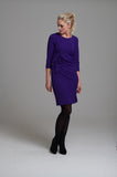 986 Purple Bow Dress
