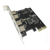 4 Port SuperSpeed USB 3.0 macOS Native PCI-Express Adapter