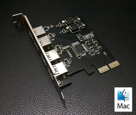 mac pro usb 3.0 pci card driver