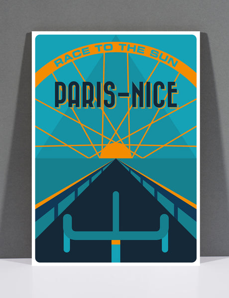 SpeedyShark Paris-Nice Art Deco Print