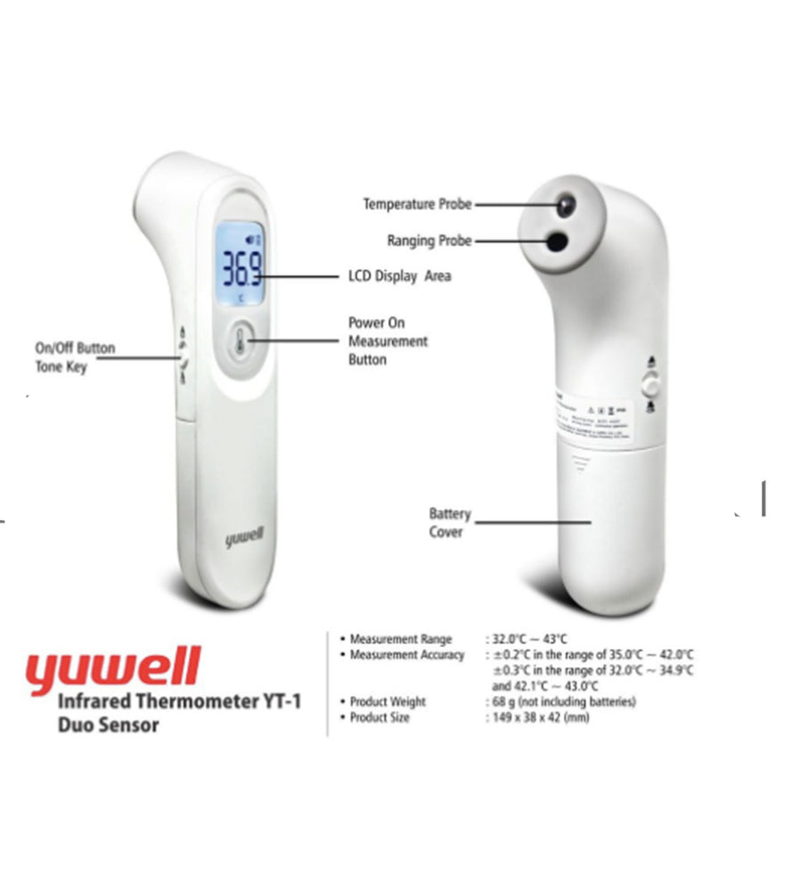 Yu well - Infrared Thermometer YT-1 - wodarmour