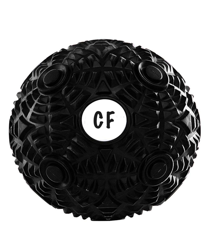 Mobility Ball for Deep Tissue Massage, Muscle Recovery, Myofascial Release, Trigger Point Therapy, and Plantar Fasciitis Designed for Crossfit, Weightlifting, Yoga, and Athletics - wodarmour