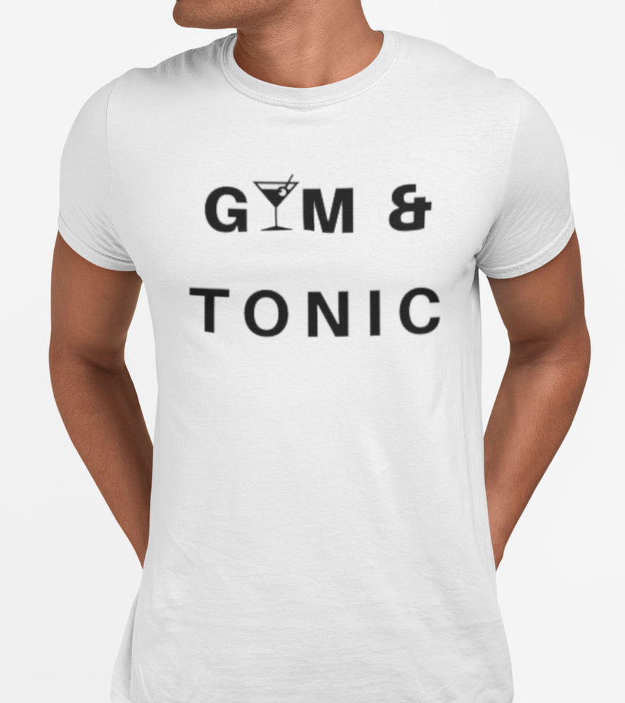 Men's GYM & TONIC T-shirt - wodarmour