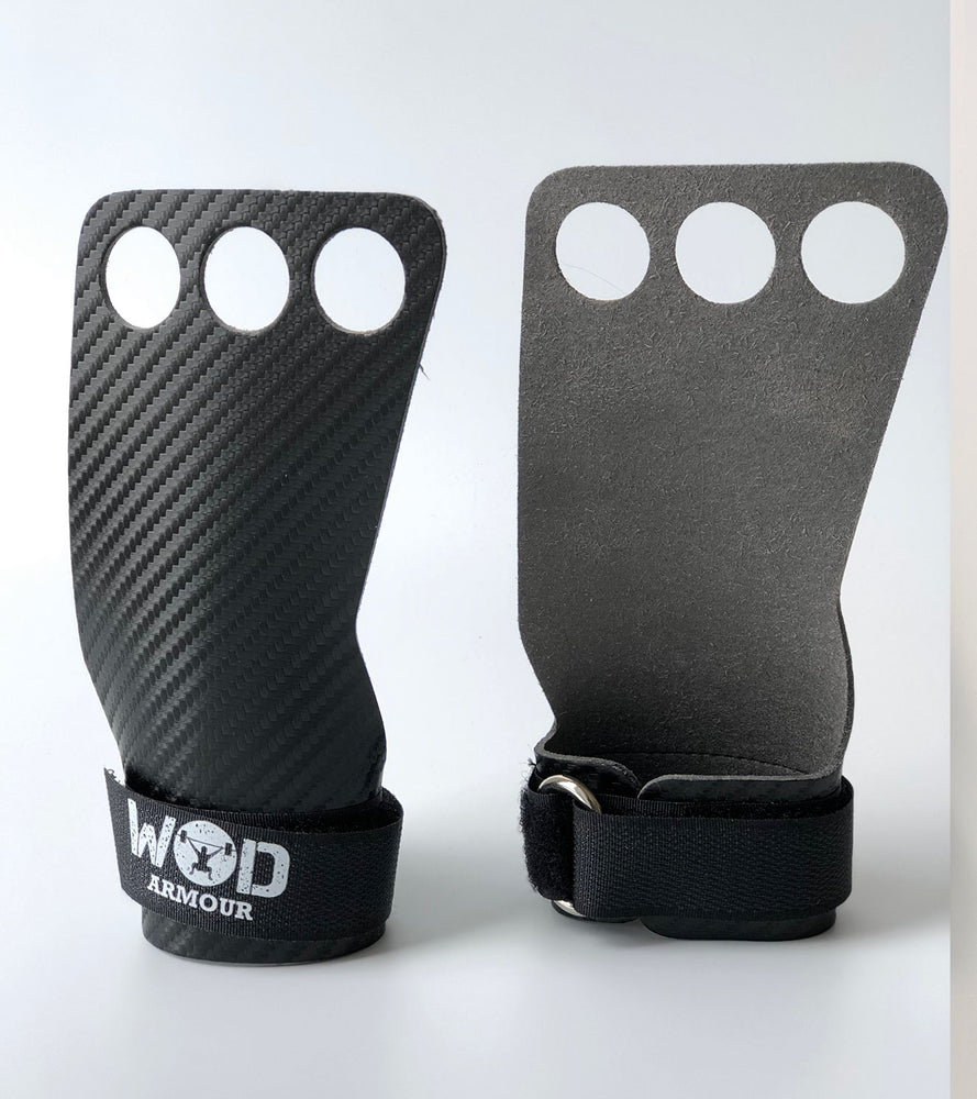 Carbon fibre gymnastic gloves - wodarmour
