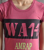 Women's  Amrap Training T-shirt (Brick Red) - wodarmour